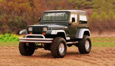 Xenon - Jeep Wrangler Xenon TJ Style Urethane Fender Flare Kit - 8710