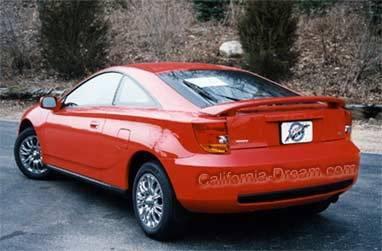 California Dream - Toyota Celica California Dream Custom Style Spoiler - Unpainted - 76N2