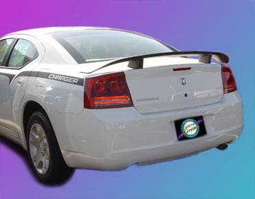 California Dream - Dodge Charger California Dream OE Style Spoiler - Unpainted - 777N