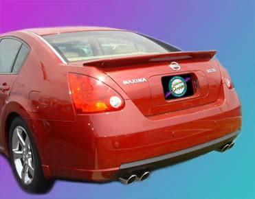 California Dream - Nissan Maxima California Dream Custom Style Spoiler with Light - Unpainted - 780L