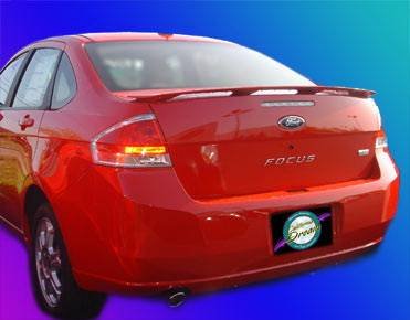California Dream - Ford Focus California Dream OE Style Spoiler - Unpainted - 812N