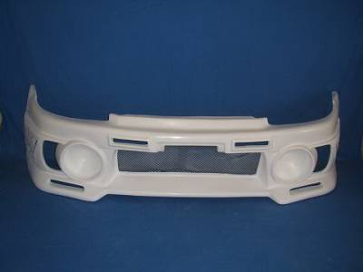 Bayspeed. - Honda Civic 2DR Bay Speed EVO 3 Style Front Bumper - 8215EV3