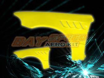 Bayspeed. - Honda Civic 2DR Bay Speed Z3 Fender - 8215Z-FD
