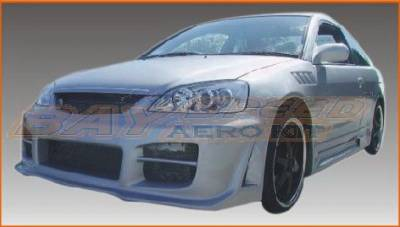 Bayspeed. - Honda Civic 2DR & 4DR Bay Speed Octane Front Bumper - 8222SR