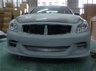 Bay Speed - Infiniti G35 Bay Speed TS Front Bumper - FRP - 8348TS
