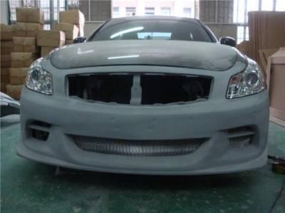 Bay Speed - Infiniti G35 Bay Speed TS Front Bumper - FRP - 8348TS