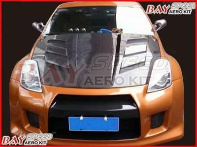 Bayspeed. - Nissan 350Z Bay Speed GTR Front Bumper - 8350GTR