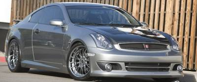 Bayspeed. - Infiniti G35 2DR Bay Speed Ken Style Front Bumper - 8351KN