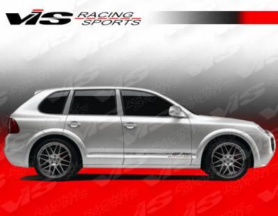 VIS Racing. - Porsche Cayenne VIS Racing G Tech Front Fender Flares - 02PSCAY4DGTH-007