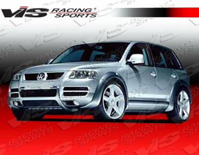 VIS Racing - Volkswagen Touareg VIS Racing Otto Fender Flare Set - 03VWTOU4DOTT-076