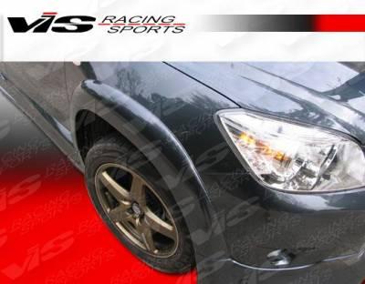 VIS Racing. - Toyota Rav 4 VIS Racing CT Cruiser Front Fender Flares - 06TYRAV4DCTC-007