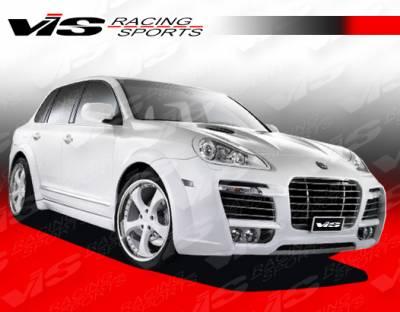 VIS Racing. - Porsche Cayenne VIS Racing A Tech Front Fender Flares - 08PSCAY4DATH-007