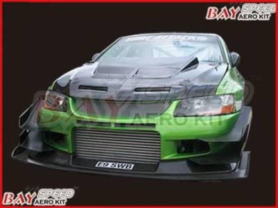 Bayspeed. - Mitsubishi Lancer Bayspeed VTS Style Front Bumper - 8428VTS