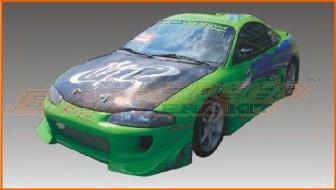 Bayspeed. - Mitsubishi Eclipse Bay Speed Blitz Front Bumper - 8435B
