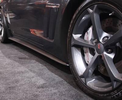 ACS - Chevrolet Corvette ACS ZR1 Rockers with Mud Flap - 27-4-023