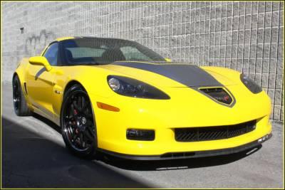 ACS - Chevrolet Corvette ACS ZR1 Supercharger Monster Hood - 27-4-S-ZR1