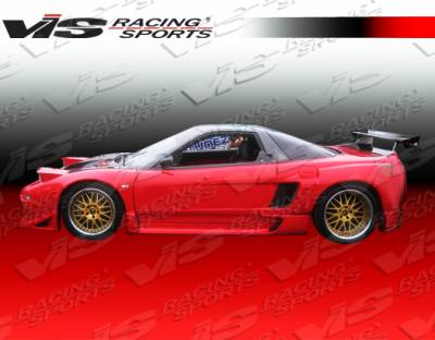 VIS Racing. - Acura NSX VIS Racing FX Widebody Rear Fender Flares - 91ACNSX2DFXWB-006