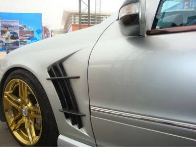 Bayspeed. - Mercedes C Class Bayspeed WD Style Fender - 8483WI.FD