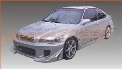 Bayspeed. - Honda Civic Bay Speed Blitz Front Bumper - 8617B