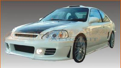 Bayspeed. - Honda Civic Bay Speed Buddy Club 2 Front Bumper - 8617BD2