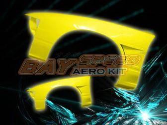 Bayspeed. - Nissan 180SX Bay Speed Fender - 20mm Wide - 8702D1-WFD