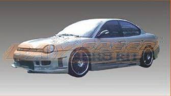 Bayspeed. - Dodge Neon Bay Speed Black Window Front Bumper - 8730BW