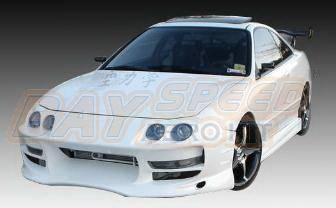 Bayspeed. - Acura Integra Bay Speed Bomex Front Bumper - 8904BX