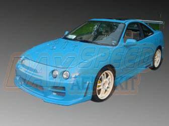 Bayspeed. - Acura Integra Bay Speed Octane Front Bumper - 8904SR