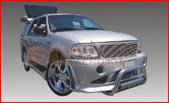 Bayspeed. - Ford Expedition Bayspeed SAR Style Front Bumper - 8989SAR