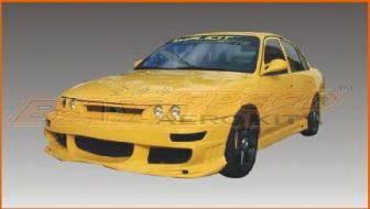 Bayspeed. - Toyota Corolla Bay Speed BMX Front Bumper - 8993BX