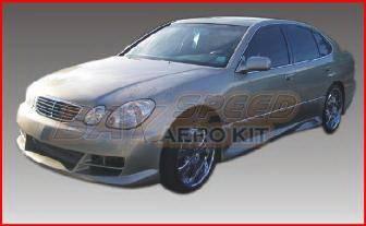 Bayspeed. - Lexus GS Bayspeed Cyber Style Front Bumper - 9001CY