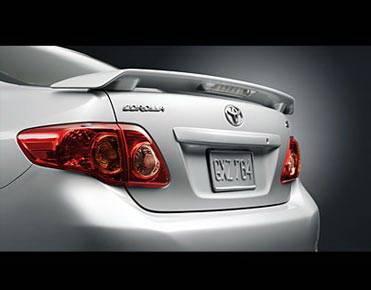 California Dream - Toyota Corolla California Dream OE Style Spoiler with Light - Unpainted - 902L