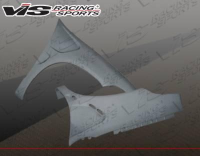 VIS Racing - Dodge Neon VIS Racing Laser Fenders - 00DGNEO4DLS-007
