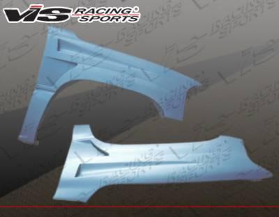 VIS Racing - GMC Yukon VIS Racing Bullet Style Fenders - 00GMYUK4DBU-007