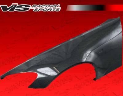 VIS Racing - Honda S2000 VIS Racing Carbon Fiber Fenders - 30mm wide - Pair - 00HDS2K2D30M-007C