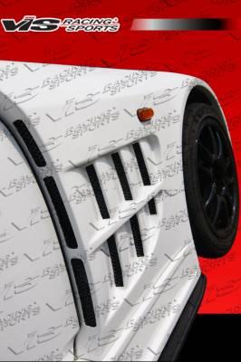 VIS Racing. - Honda S2000 VIS Racing Z Speed Widebody Front Fenders - 00HDS2K2DZSPWB-007