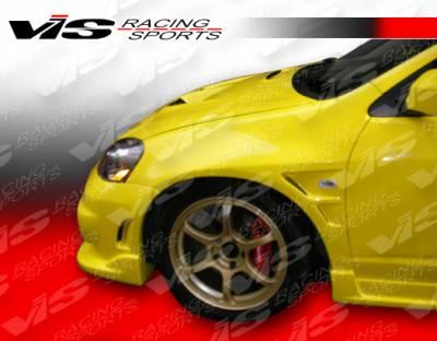 VIS Racing - Acura RSX VIS Racing Wings Front Fenders - 02ACRSX2DWIN-007