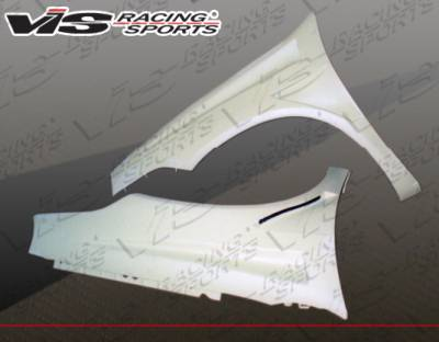VIS Racing - Dodge Neon VIS Racing Bullet Fenders - 03DGNEO4DBU-007