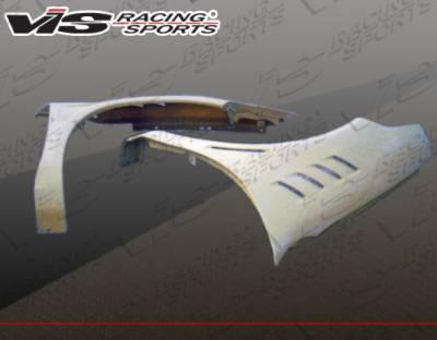 VIS Racing - Dodge Neon VIS Racing Z3 Fenders - 03DGNEO4DZ3-007