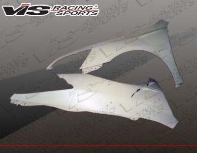 VIS Racing - Honda Accord 2DR VIS Racing Laser Fenders - 03HDACC2DLS-007