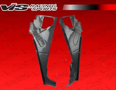 VIS Racing - Hummer H2 VIS Racing OEM Style Carbon Fiber Fenders - 03HMH24DOE-007C