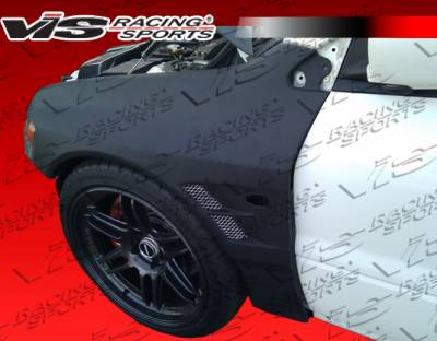 VIS Racing - Mitsubishi Evolution 8 VIS Racing VTX Front Fenders - 03MTEV84DVTX-007