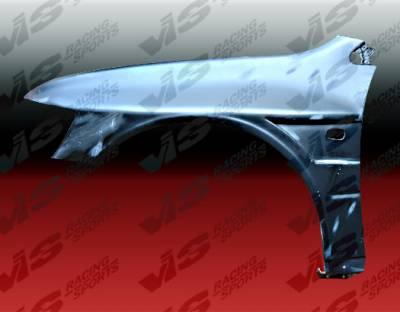 VIS Racing - Mitsubishi Lancer VIS Racing Z-Speed Front Fenders - 03MTEV84DZSP-007