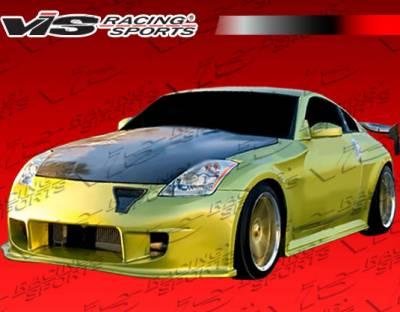 VIS Racing - Nissan 350Z VIS Racing Demon Widebody Front Fenders - 03NS3502DDEM-007