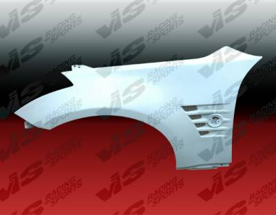 VIS Racing - Nissan 350Z VIS Racing Magnum Fenders - 03NS3502DMAG-007