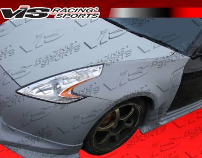 VIS Racing. - Nissan 350Z VIS Racing Z34 Conversion Front Fenders - 03NS3502DZ34-007
