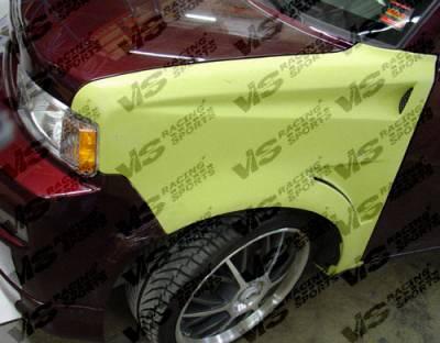 VIS Racing - Scion xB VIS Racing Bullet Fenders - 04SNXB4DBU-007