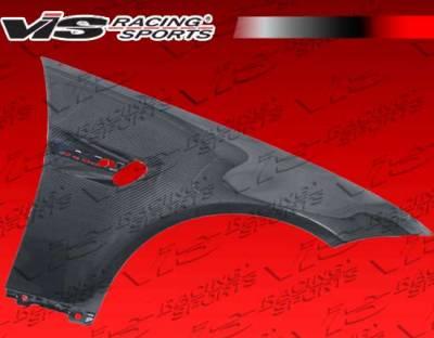 VIS Racing - BMW 3 Series VIS Racing OEM Style Carbon Fiber Fenders - 07BME92M32DOE-007C
