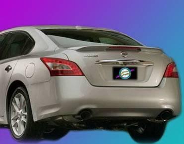 California Dream - Nissan Maxima California Dream OE Style Spoiler with Light - Unpainted - 980L