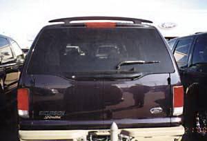 California Dream - Ford Taurus California Dream Custom Style Spoiler - Unpainted - 98N